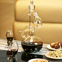 bar@drinkstuff - Juego de decantador y 4 vasos