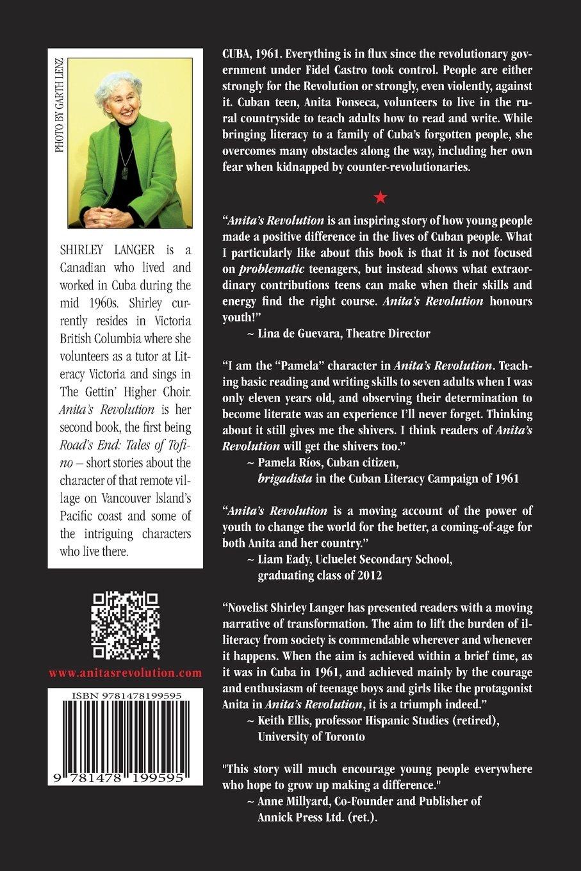Anita's Revolution: Shirley Anne Langer: 9781478199595: Amazon: Books