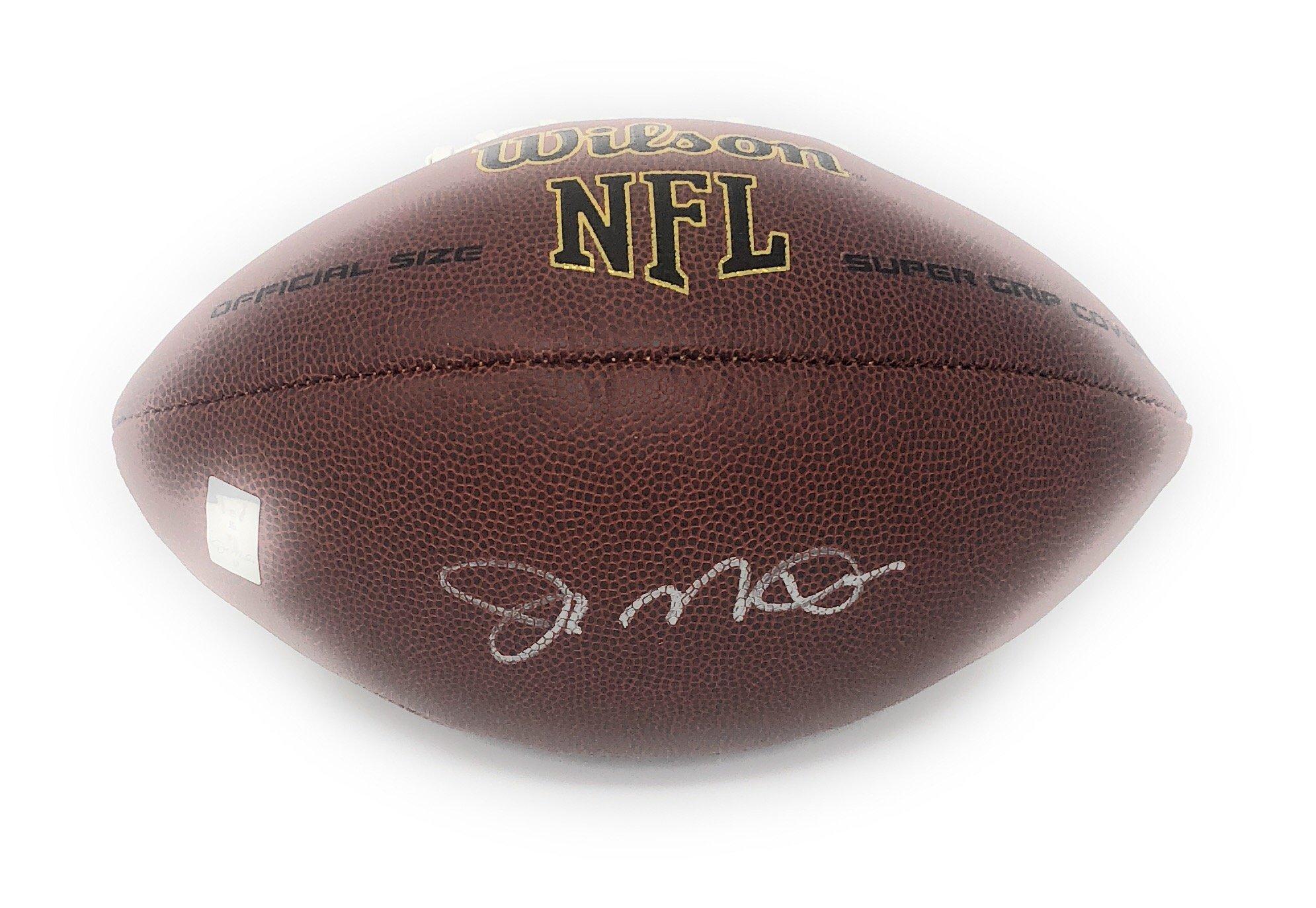 Joe Montana San Francisco 49ers Signed Autograph Football Montana GTSM Player Hologram