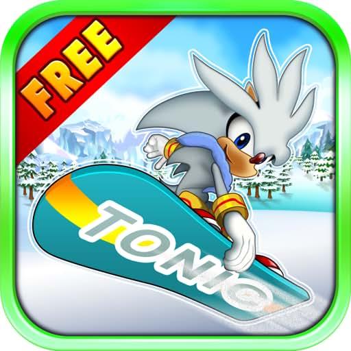 Tonic Rider FREE - VERY FUN AND ADDICTIVE Snowboard Runner