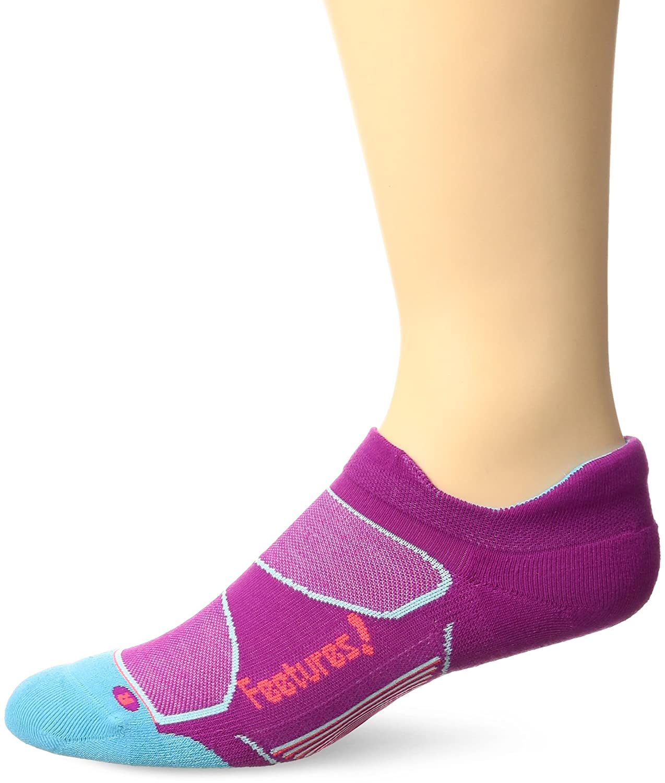 1213b4ec9d3 Amazon.com  Feetures Elite Max Cushion No Show Tab Athletic Running Socks  for Men and Women  Clothing
