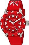 Nautica Unisex NAD09510G NSR 100 FLAG Analog Display Quartz Red Watch