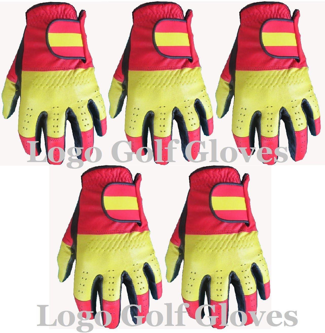 5 Cabretta Guantes de golf España Logo Gator, color , tamaño XL ...