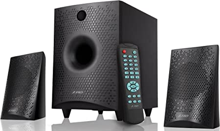F D F210X 2.1 Channel Multimedia Bluetooth Speakers  Black  Multimedia Speaker Systems