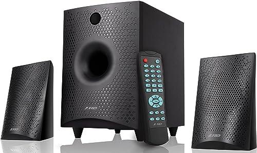 7. F&D F210X 2.1 Channel Bluetooth Speakers