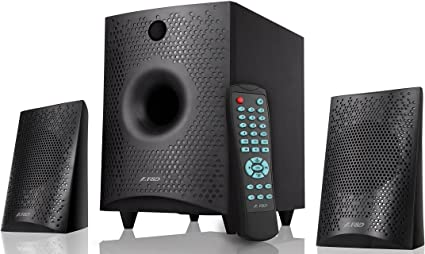 eed0a5ab372b F&D F210X 2.1 Channel Multimedia Bluetooth Speakers (Black) Price ...
