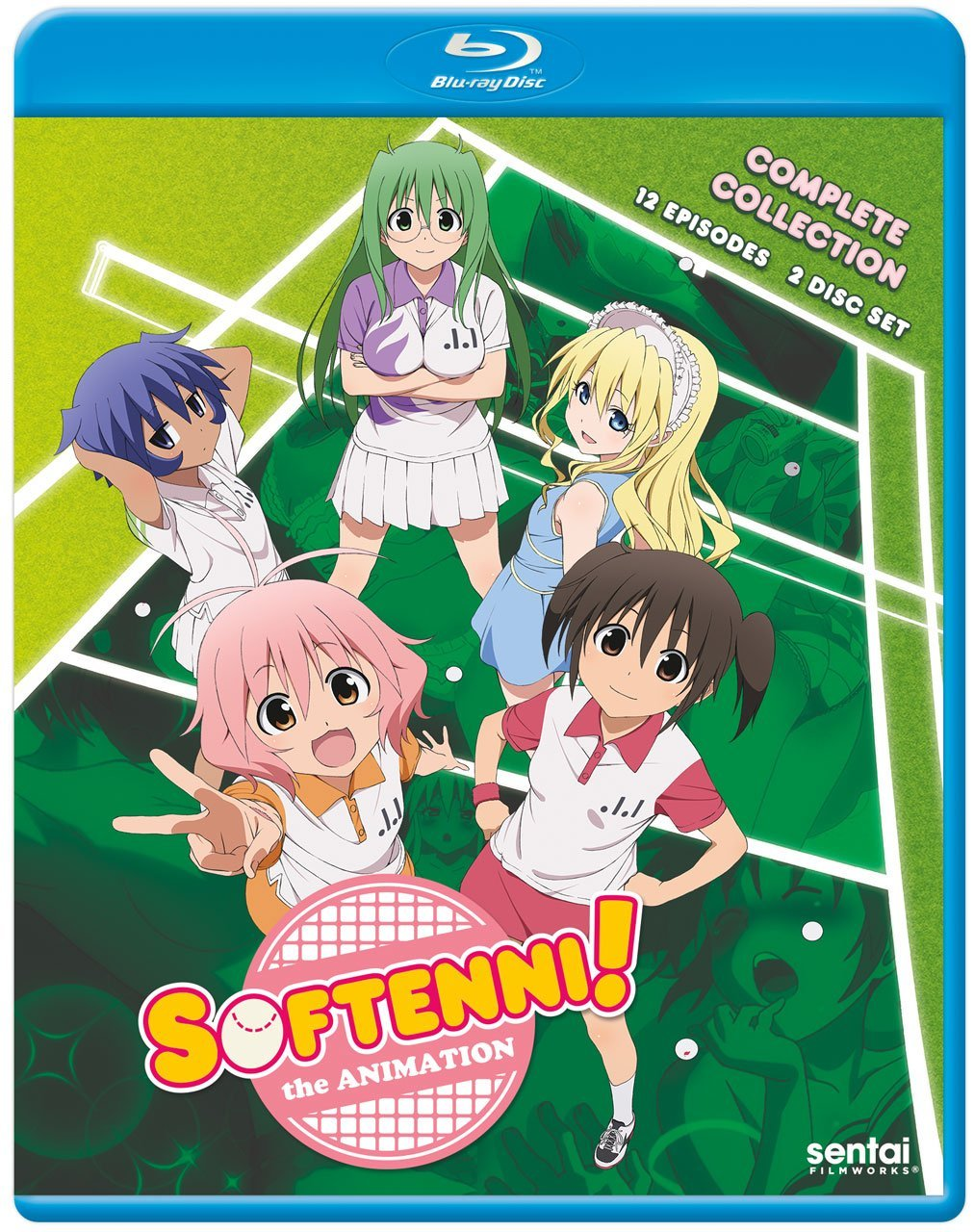 Softenni! the Animation Blu-ray (Sub Only)