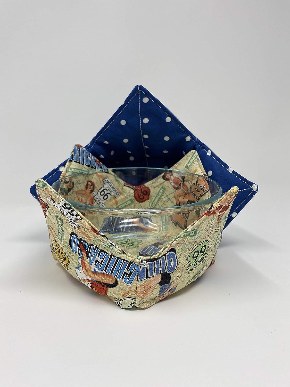 11 Microwave Bowl Holder  Cozy  Pot Holder 1 Set of 2