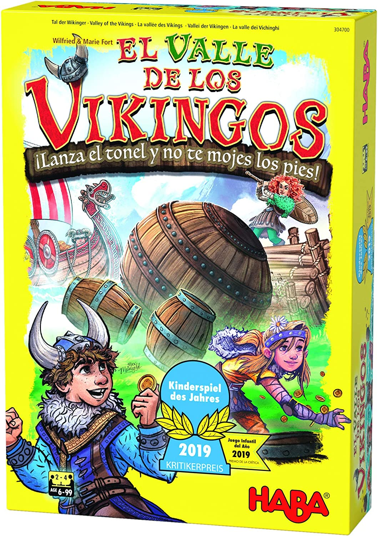 HABA- Juego de Mesa, El Valle de los Vikingos, Multicolor ...