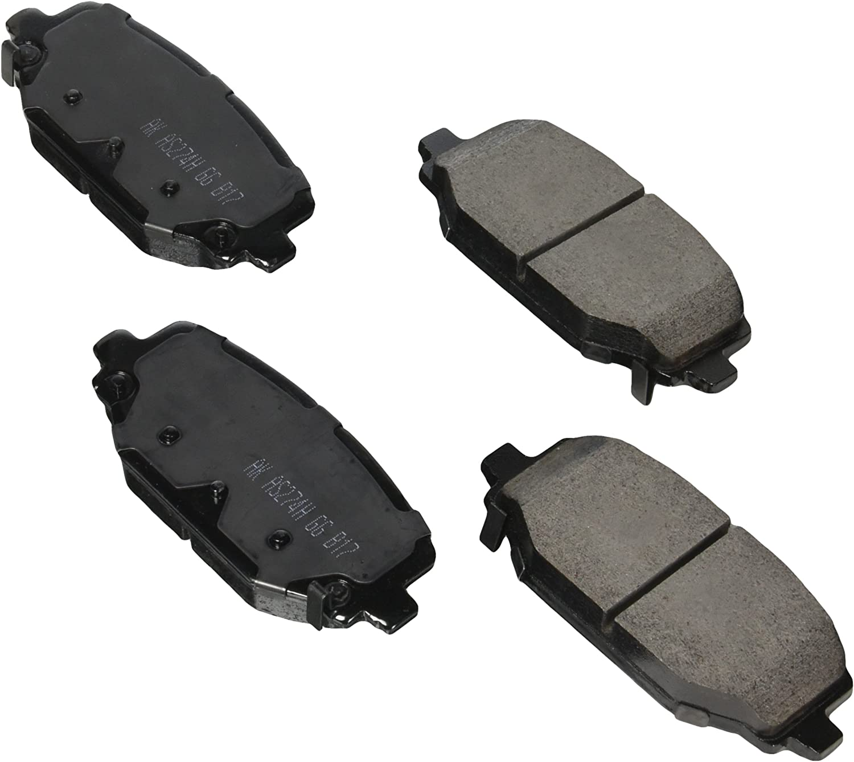 ProACT ACT1596 Akebono ProACT Ultra Premium Ceramic Disc Brake Pad Kit