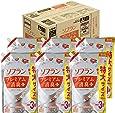 【ケース販売 大容量】ソフラン プレミアム消臭プラス 柔軟剤 アロマソープの香り 詰め替え 1440ml×6個