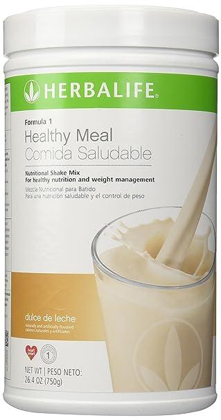 Herbalife Formula 1 Nutritional Shake Mix - (Dulche Leche), 26.4 oz (750g): Amazon.es: Salud y cuidado personal