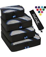 Amazon Com Shacke Pak 4 Set Packing Cubes Travel
