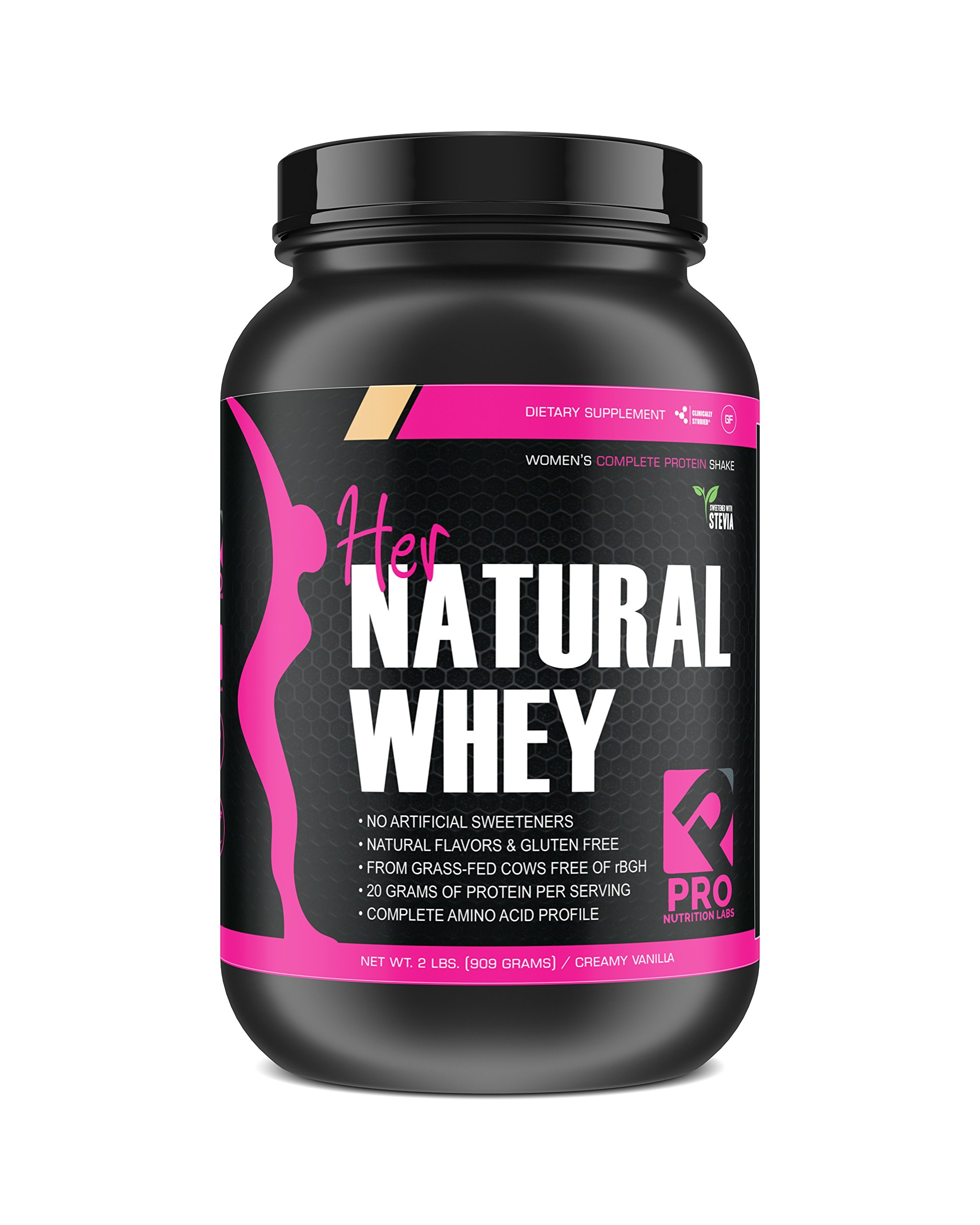 Amazon.com: Protein Powder for Women - Her Natural Whey Protein Powder for Weight Loss & to