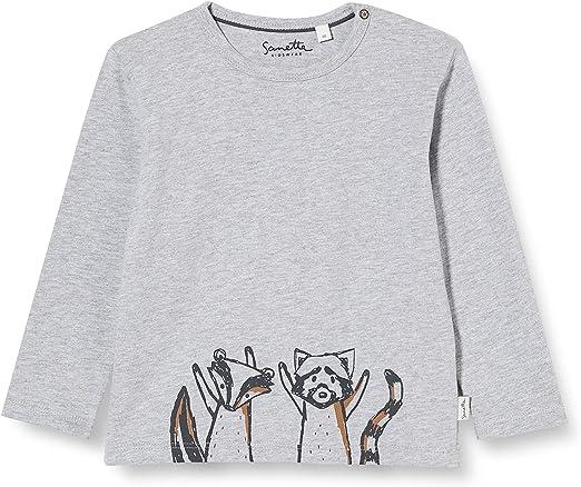 Sanetta Baby-Jungen Fiftyseven Dark Grey Mel Kleinkind T-Shirt-Satz