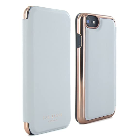 91e5818fb75 Ted Baker iPhone 7/6/6s Mirror Folio Phone Case, Light Grey, Shannon Dove  38762 from SS17 Collection