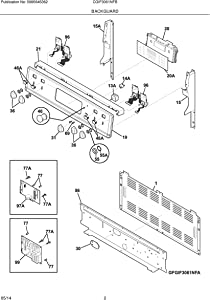 5304495522 Range Oven Control Board Kit Genuine Original Equipment Manufacturer (OEM) Part