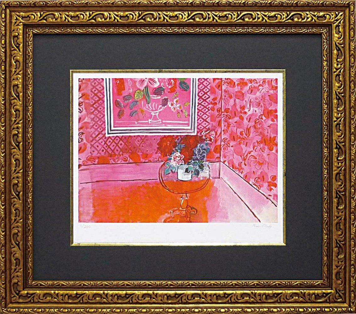 ユーパワー Museum series ミュージアムシリーズ(ジグレー版画) アートフレーム デュフィ 「バラ色の人生」 MW-18061 B003VTTNLY
