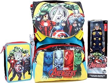Hasbro Mochila School Pack C/Thor los Vengadores Team Avenger ...