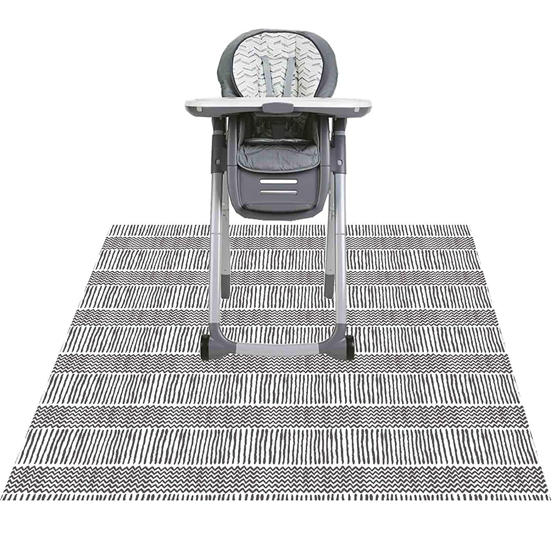 Splat Mat for Under High Chair/Arts/Crafts, Triluby 51