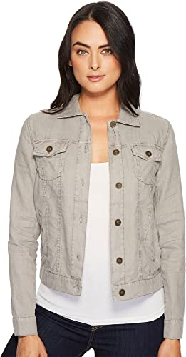 Michael Stars Women S Linen Jean Jacket At Amazon Women S Coats Shop