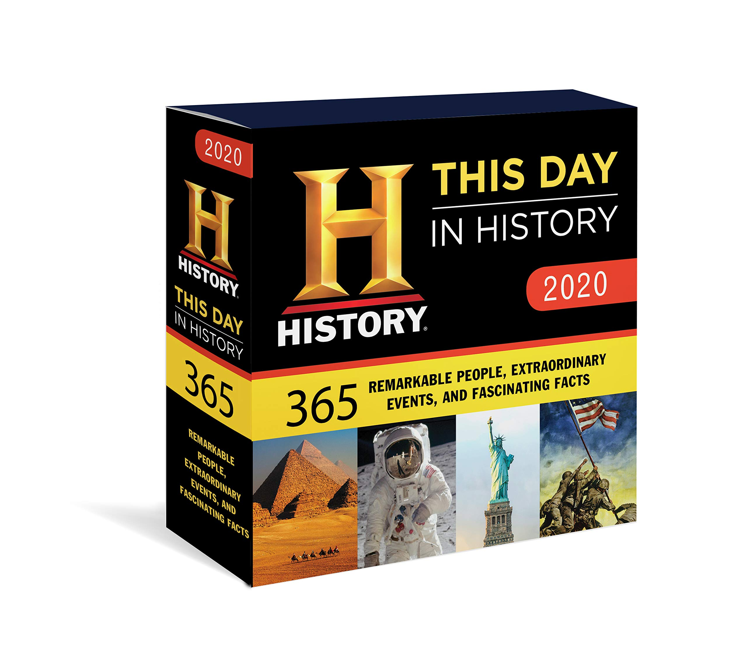 """Box for """"This day in history"""" daily calendar."""