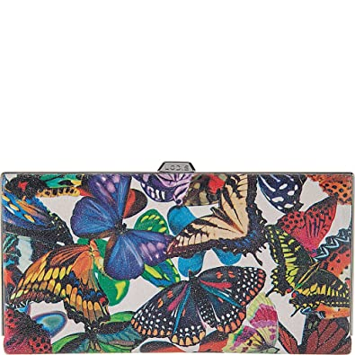 a8ab6e6a87 Lodis Accessories Women s Vanessa Butterfly Quinn Clutch Wallet Multi  Wallets