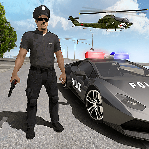 Miami Police Crime Simulator (Best Car Shooting Games)