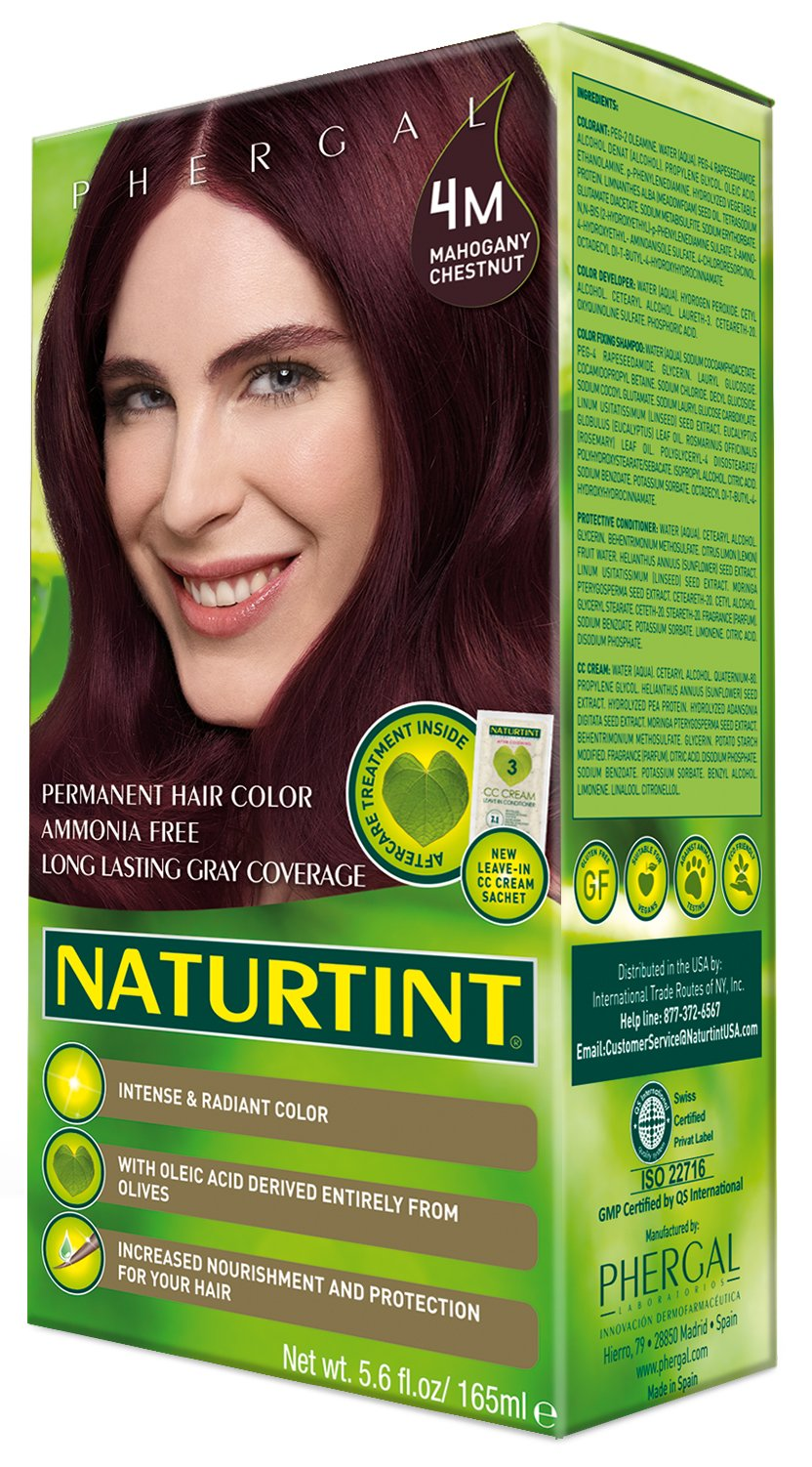 Naturtint Permanent Hair Color - 4M Mahogany Chestnut, 5.6 Fluid Ounce (Pack of 6) by Naturtint (Image #3)