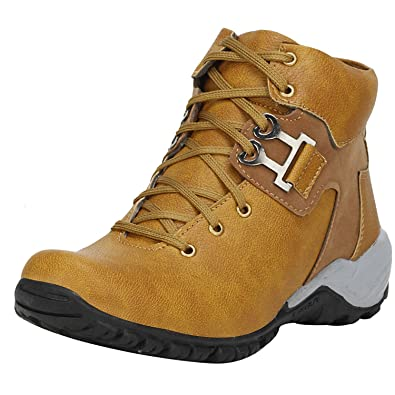 f942ccc2d4e Kraasa Men's Synthetic Boots