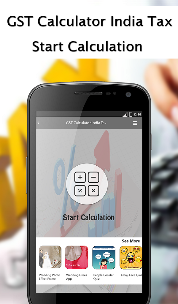 Amazon com: GST Calculator India Tax: Appstore for Android