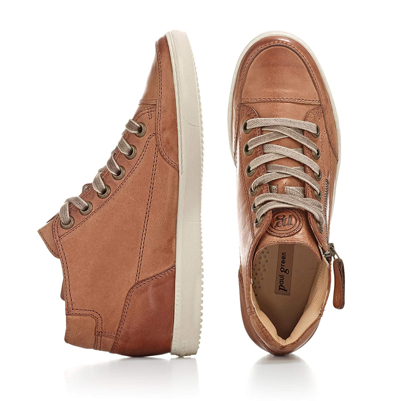Paul Grün Grün Paul Damen 4242381 Sneaker Cognac acecf3
