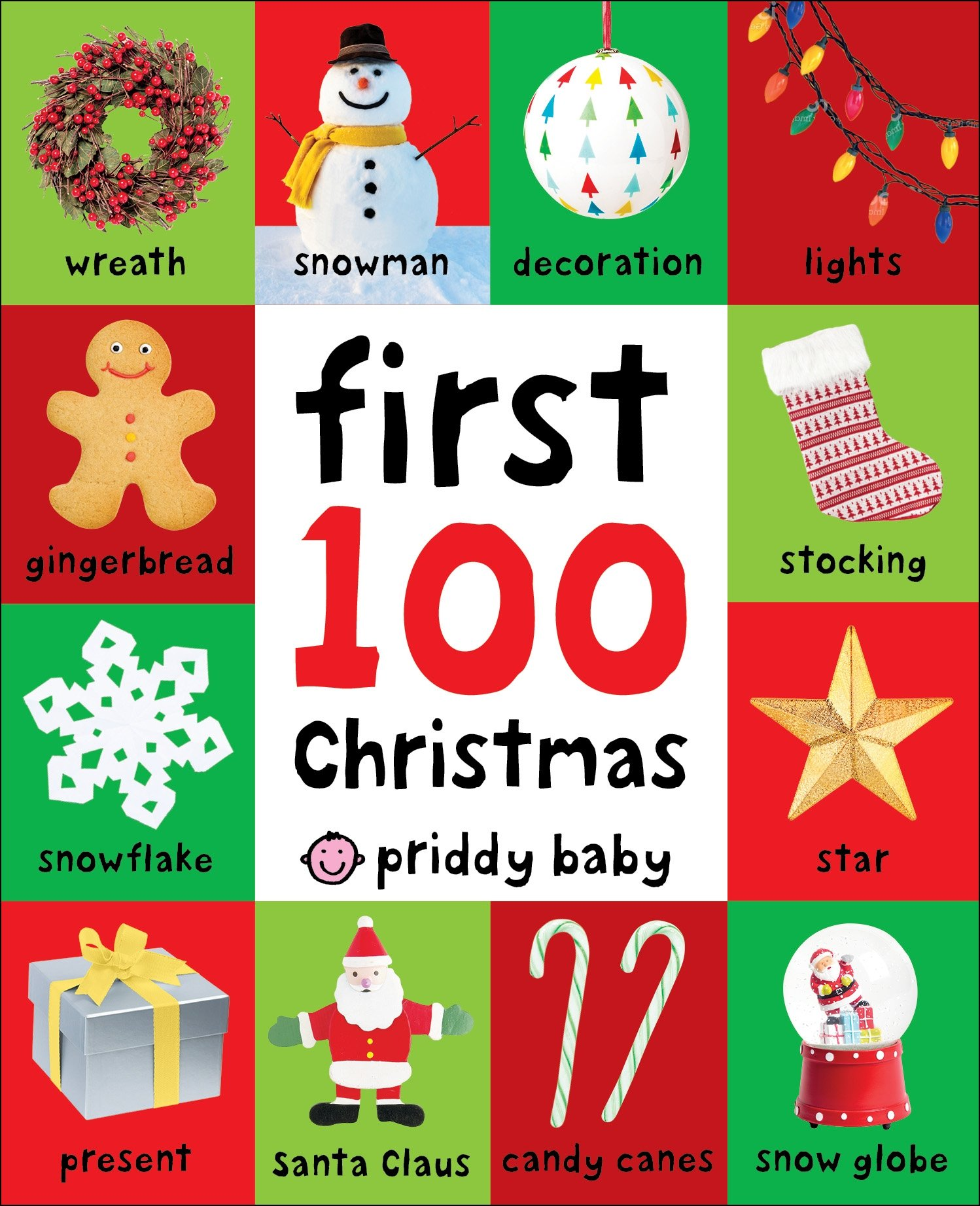 Christmas Words.First 100 Christmas Words Roger Priddy 9780312527686