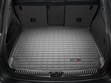 2011 2015 ford explorer black weathertech cargo liner behind second row seating - Ford Explorer 2015 Trunk Space