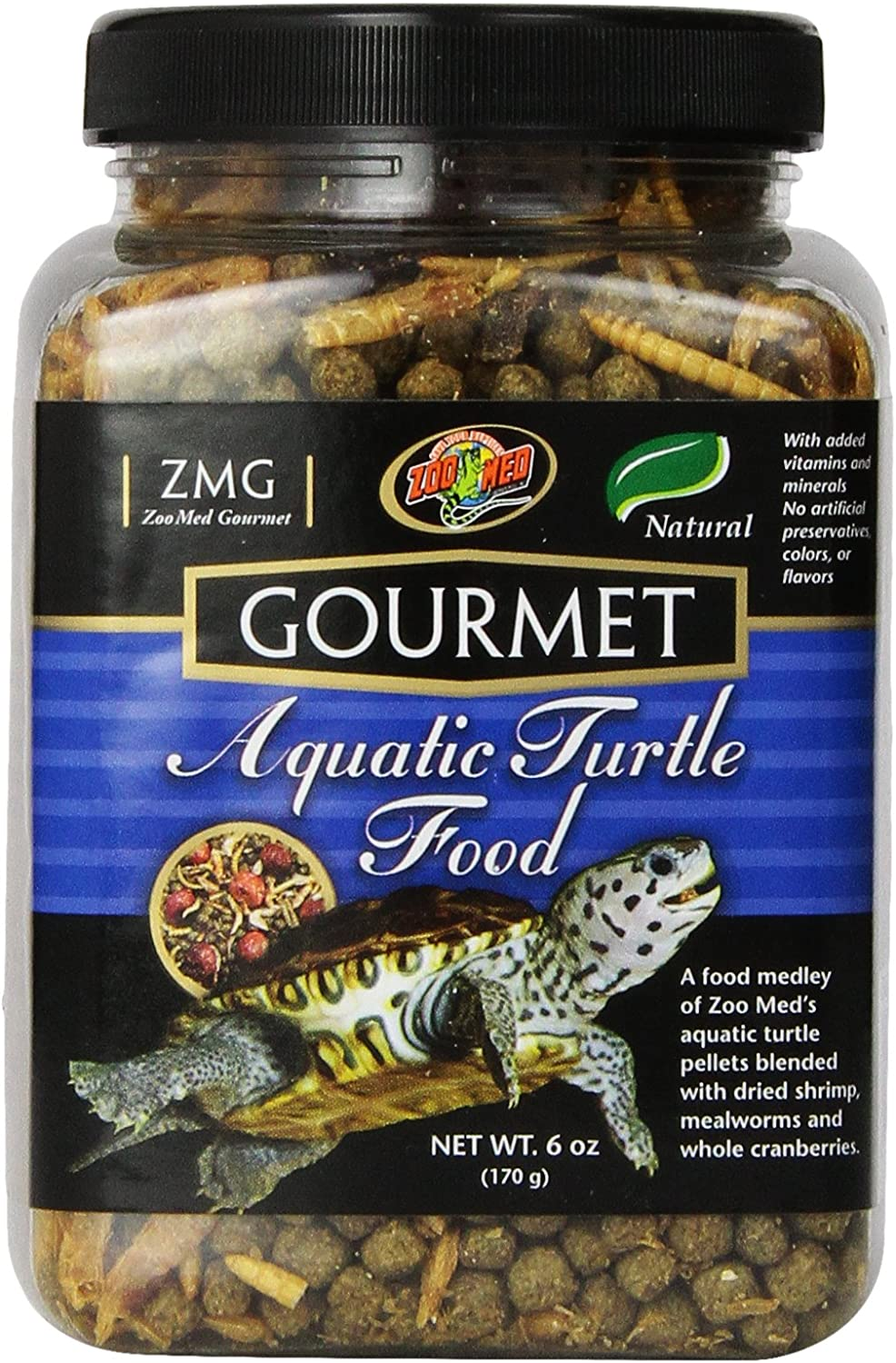 Royal Pet Supplies Inc Zoo Med Gourmet Aquatic Turtle Food