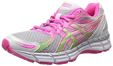 ASICS Women's Gel-Excite 2 Running Shoe,White/Mint/Hot Pink,