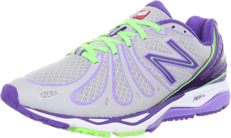 NEW BALANCE 890v3 Zapatilla de Running Señora, Plata/Púrpura, 41 - Anchura B: Amazon.es: Zapatos y complementos