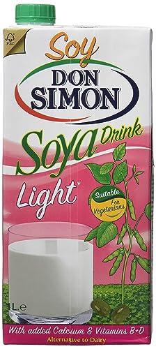 Don Simon Bebida de Soja Light - Paquete de 12 x 1 l - Total: 12 l: Amazon.es: Alimentación y bebidas
