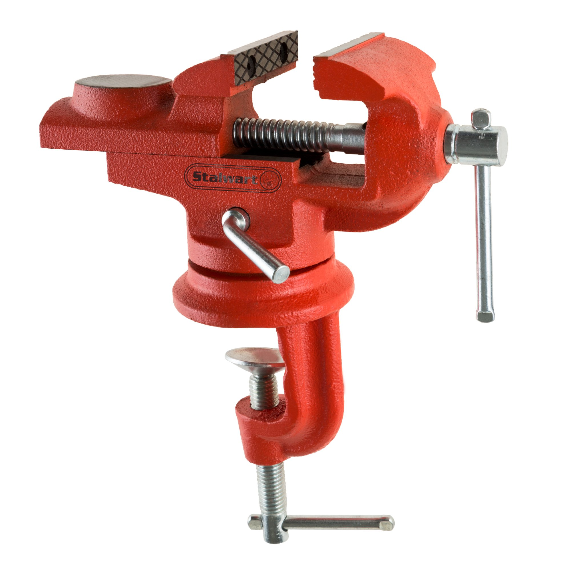 2.25 Inch Jaw Steel Universal 360° Swivel Table Top Vise By Stalwart by Stalwart
