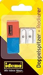 Idena 522073 - Radierer und Anspitzer Set, 2- teilig