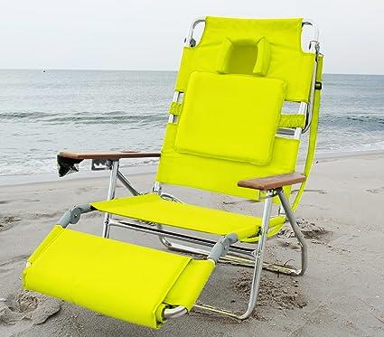Amazon.com: OstrichSilla de playa acolchada de lujo y ...