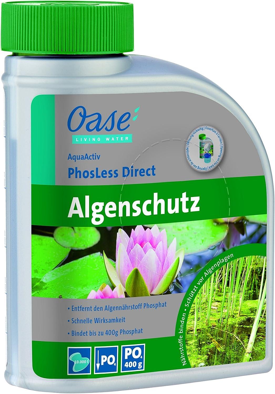 Oase de purificador de Agua Algo phosless Direct 500 ml, Plata ...