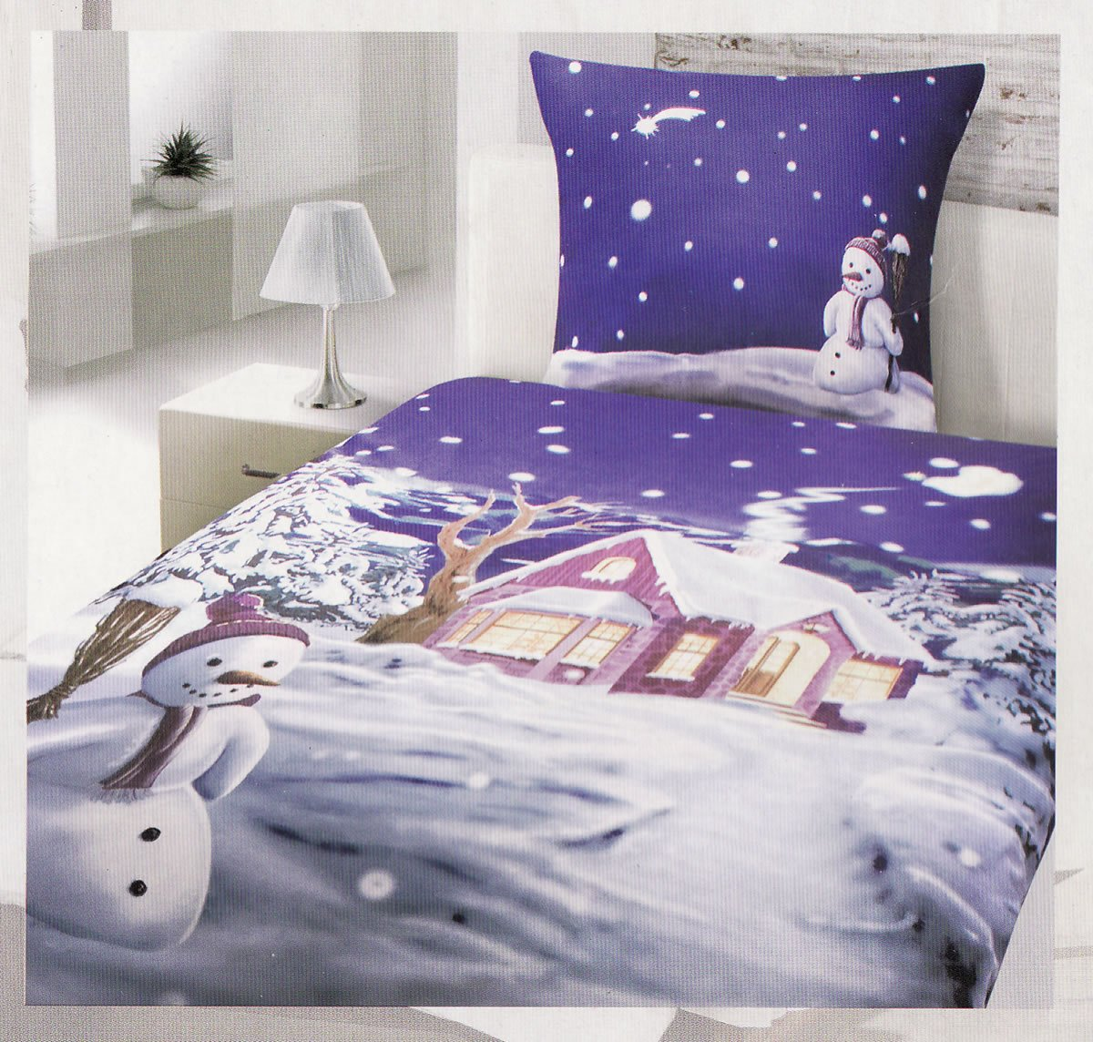 bettw sche biber winterlandschaft my blog. Black Bedroom Furniture Sets. Home Design Ideas