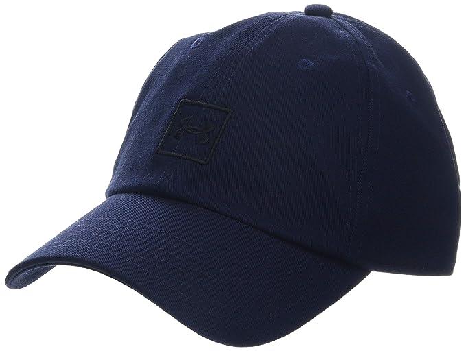 Under Armour Men s Washed Cotton Cap Black     Graphite (001) 849121350347