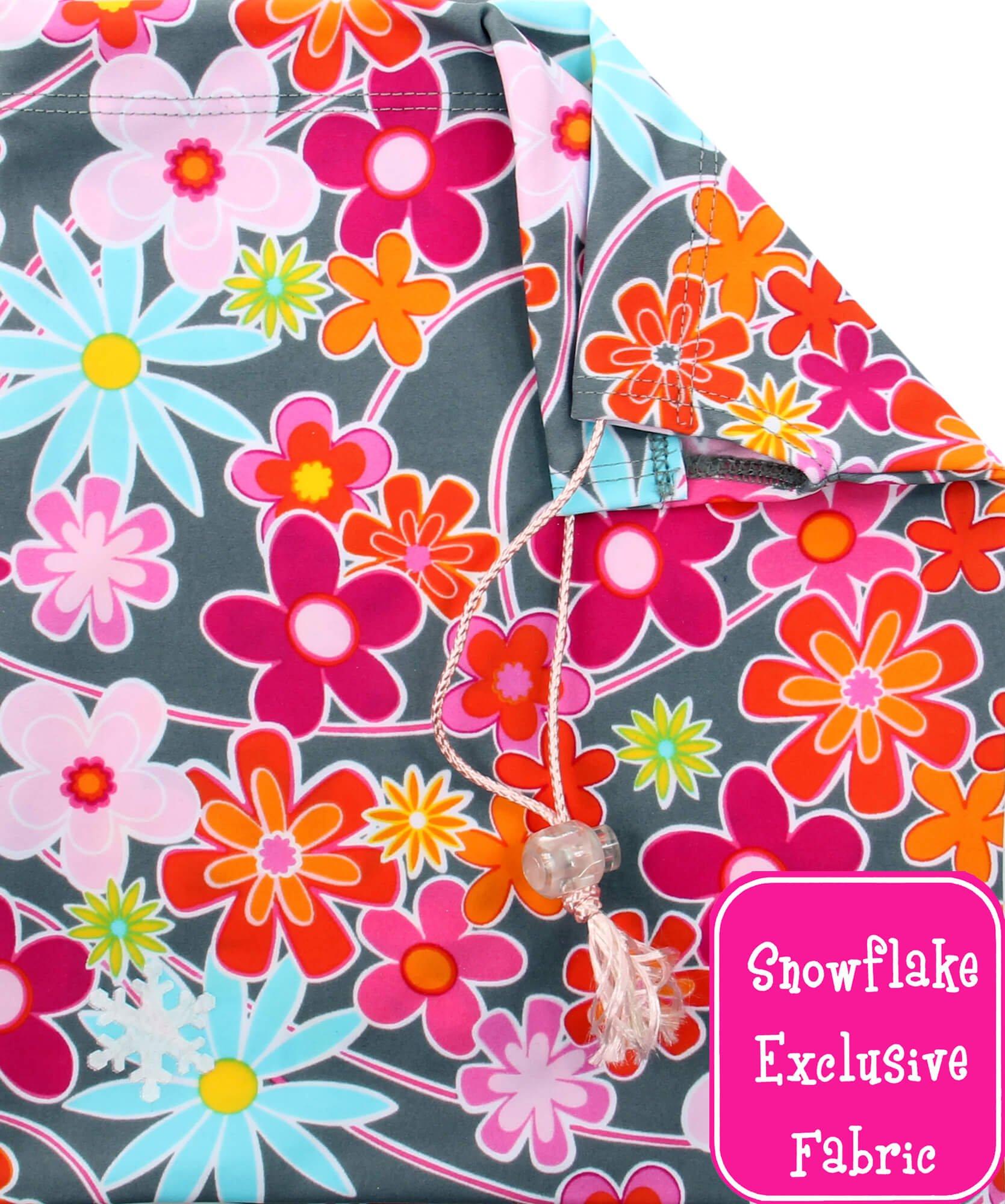 Snowflake Designs Graysy Daisy Gymnastics Grip Bag