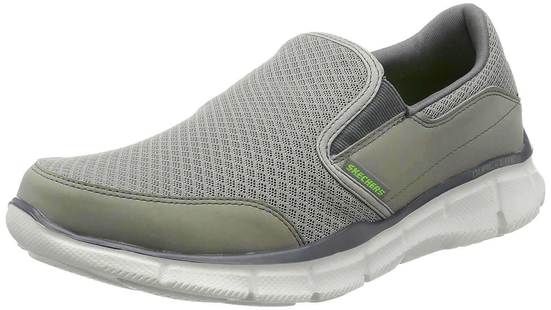 Skechers Equalizer Persistent - zapatilla deportiva de material sintético hombre 48.5 EU|Gris - Gris (Gry)