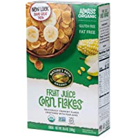 Nature's Path Fruit Juice Corn Flakes Cereal, Healthy, Organic, Gluten-Free, 10.6 Ounce (Pack of 6)