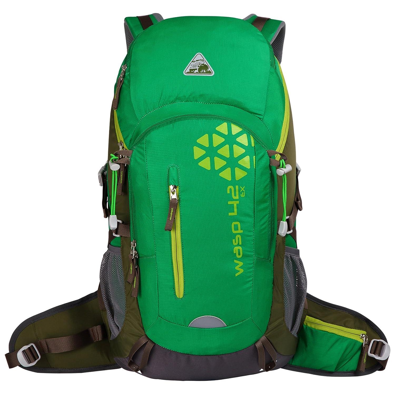 b7896d36f525 Kimlee Internal Frame Pack Hiking Daypack Camping Backpack Trekking Outdoor  Gear