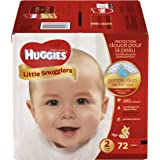 Huggies Little Snugglers Diapers Disney Design Size 2 - 72 CT