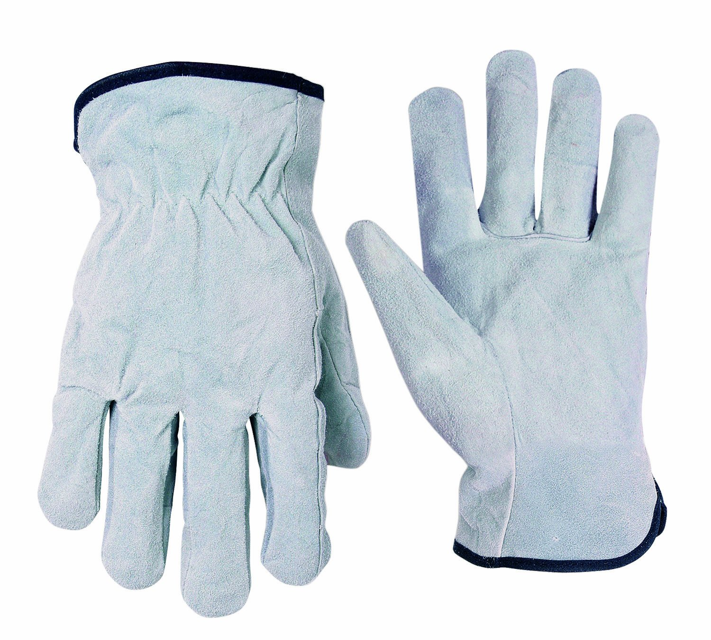 Medium CLC Custom Leathercraft 2054M Split Cowhide Drivers Gloves